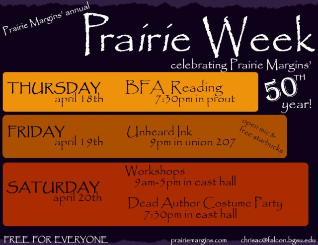 Prairie Week is Next Week